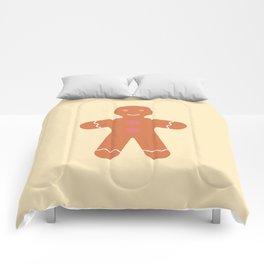 #89 Gingerbread Man Comforters