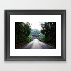 Panamerican Bridge Framed Art Print