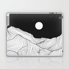 Lines in the mountains II Laptop & iPad Skin
