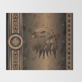 Eagle Nation Throw Blanket