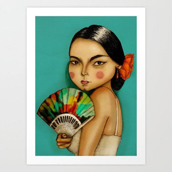 Lola Flores Art Print