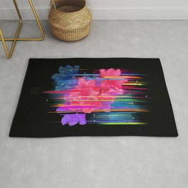 Night Blooming Bouquet Rug