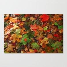 Lotta Leaves Canvas Print