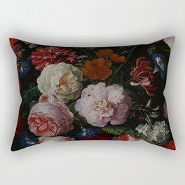 Vintage & Shabby Chic - Dutch Midnight Garden Rectangular Pillow