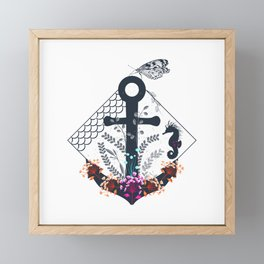 Anchor Framed Mini Art Print