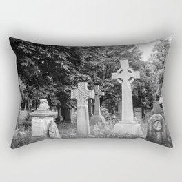 Garden of the Departed Rectangular Pillow