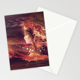 Shadow Of A Thousand Lives - Digital painting - Manafold Art Stationery Cards
