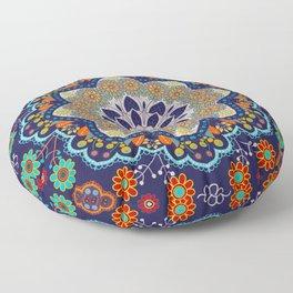 bohemian mandala Floor Pillow