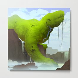 Jungle Giant Metal Print