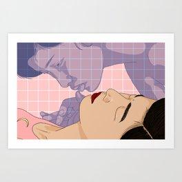 Spend the night Art Print