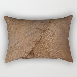 Bark Texture, Palm Bark, Primitive Rectangular Pillow