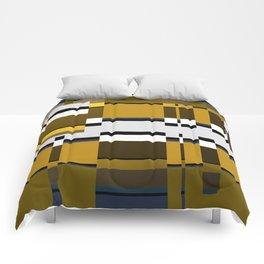 Metallic Glitch Comforters
