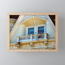 No Sun Chairs Here Either, Pete Framed Mini Art Print