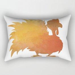 Happy Thanksgiving Turkey Minimal Abstract Rectangular Pillow
