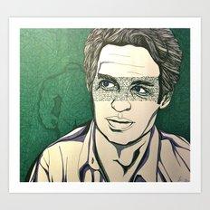 Bruce Art Print