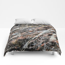 Copper Ore painting Comforters
