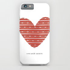 CORAZON (rojo) Slim Case iPhone 6s