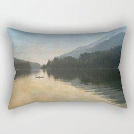 Lake Sutherand Sunset Rectangular Pillow