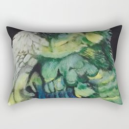 Smallest Hummingbird of the Jungle III Rectangular Pillow