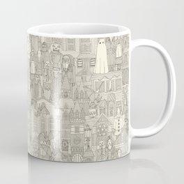 vintage halloween drab ivory Coffee Mug