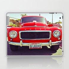Red Volvo classic Laptop & iPad Skin