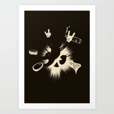 The Harder They Fall Art Print