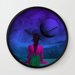 Infinity Pool Wall Clock