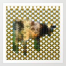 Atom Heart Mother Art Print
