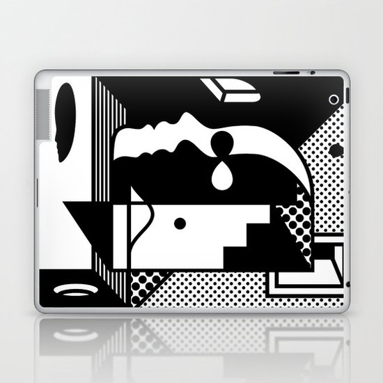 Stairs To The Attic Laptop & iPad Skin