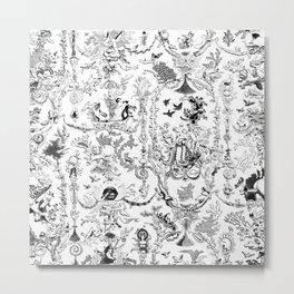 K.F. Metal Print