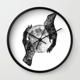 The Magic of the Universe Wall Clock