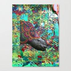 Rhin-O-mite Canvas Print