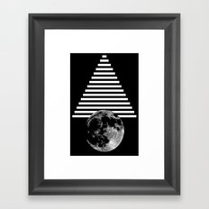 moon walk Framed Art Print