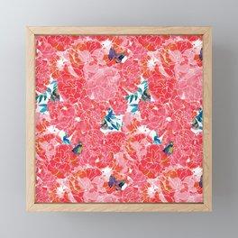 Peonies Framed Mini Art Print