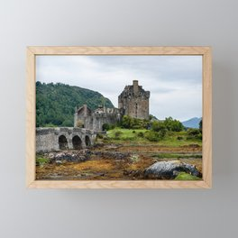 Scotland: Eilean Donan Castle Framed Mini Art Print