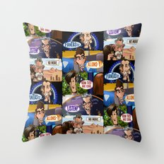 New Who Throw Pillow