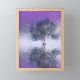 strange light somewhere -22- Framed Mini Art Print