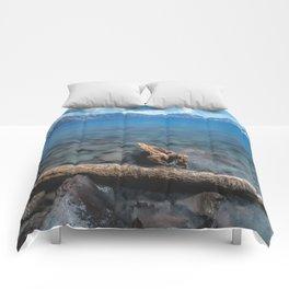 Crater Lake Love Comforters