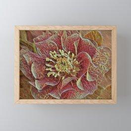 Chasoffart-Flo-3 Framed Mini Art Print