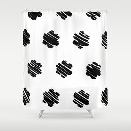 strokes Shower Curtain