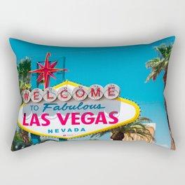 Fabulous Las Vegas Rectangular Pillow