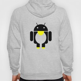 linux Tux penguin android  Hoody