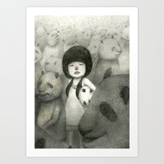 Find Your Identity Art Print