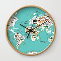 Cartoon animal world map for children and kids, Animals from all over the world by ekaterinap