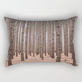 Deep In The Pines Rectangular Pillow