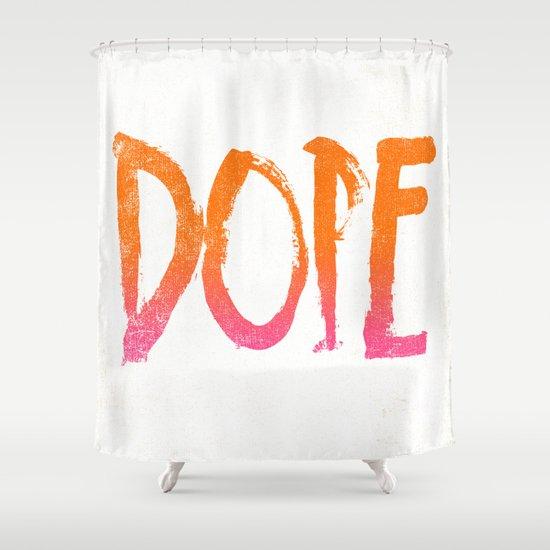 DOPE Shower Curtain
