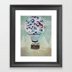 a kitten adventure Framed Art Print