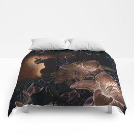 Black Kitty Halloween Comforters