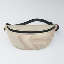 0109 Nude Red Head Girl Fanny Pack