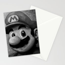 Plumber King Mario Stationery Cards
